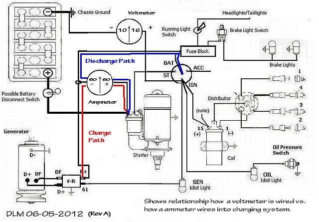 volkswagen amp meter wiring diagram