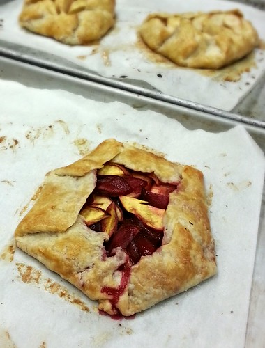 Pluot and nectarine galette/crostada by pipsyq