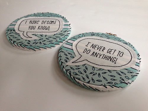 Mo willems pigeon embroidery hoops