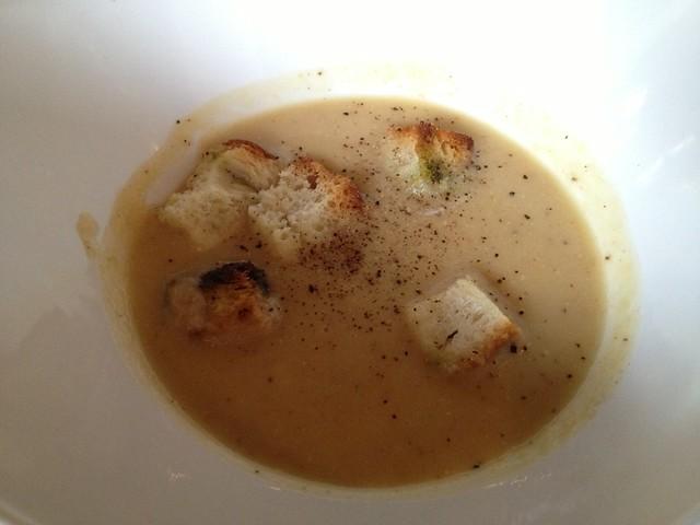 Roasted cauliflower soup - Alamo Square Seafood Grill