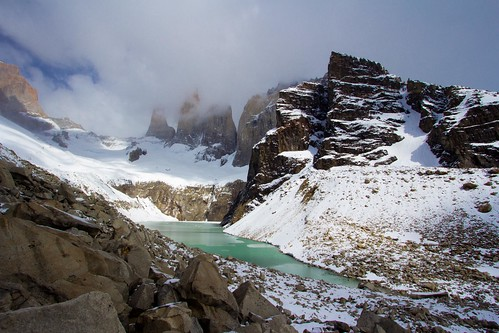 Torres del Paine desde el Mirador
