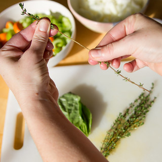 Removing Thyme