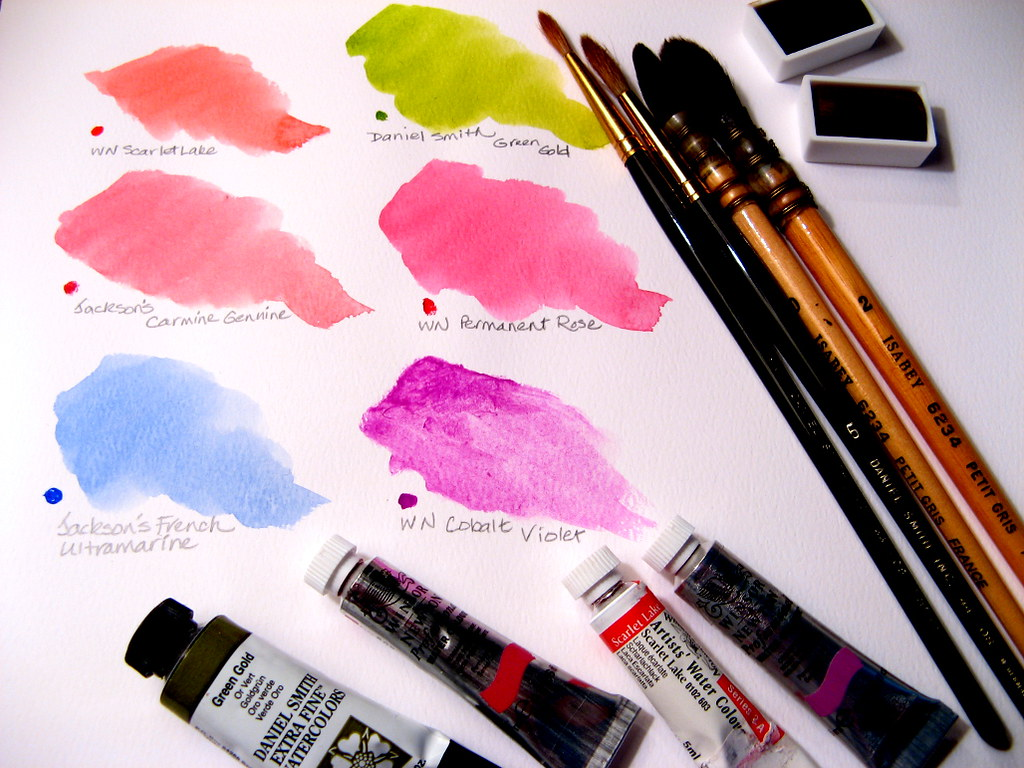 Watercolor Tools