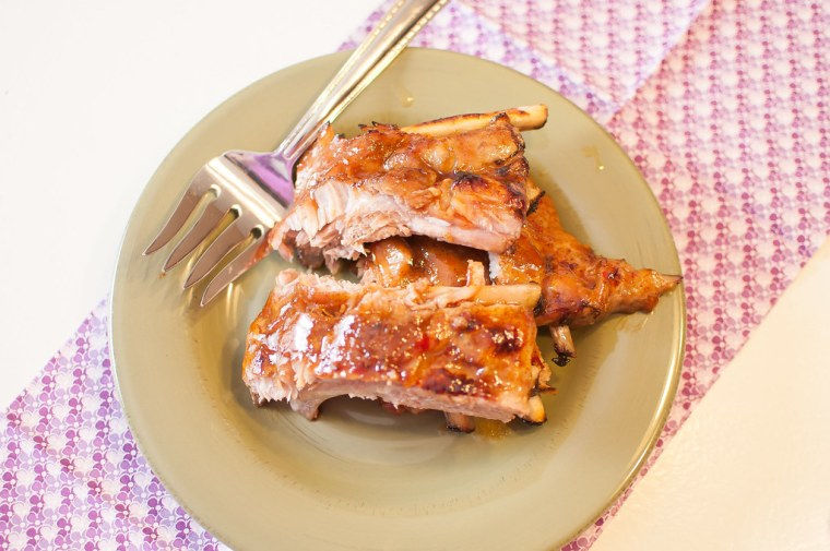 Sweet and Spicy Asian Ribs