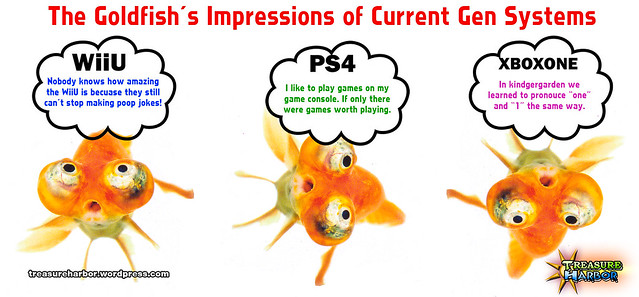 Goldfish's Controversial Impressions of Wii U, Xbox One & PS4!