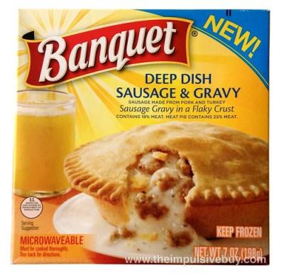 Banquet Deep Dish Sausage & Gravy Pie