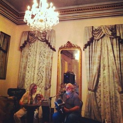 Know what helps an airplane delay? Creole folk music at a historic hotel on Saint Charles Street. That's what. You should love New Orleans too.