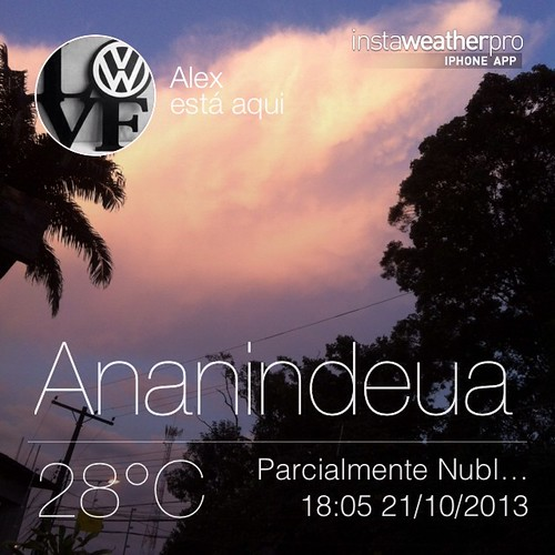 #weather #instaweather #instaweatherpro  #sky #outdoors #nature #world #love #followme #follow #beautiful #instagood #fun #cool #like #life #nice #happy #colorful #photooftheday #amazing #ananindeua #brasil #day #sunset #br
