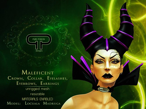 Pure Poison - Maleficent Headdress