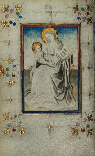 009-Fol 32v-W.165, HORAS DE LOFTIE -  Siglo XV-The Digital Walters