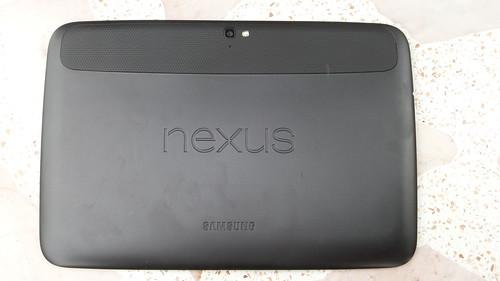 Samsung Nexus 10 ด้านหลัง