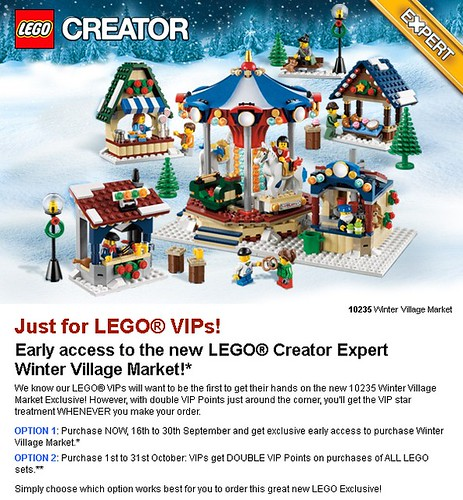 Early access to the new LEGO Creator Expert
