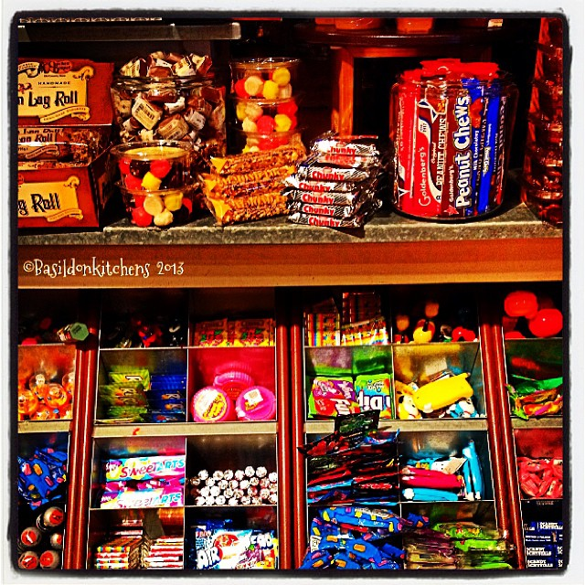 Oct 1 - something colorful {candy display @ Cracker Barrel Old Country Store} #fmsphotoaday #colorful #candy #crackerbarrel