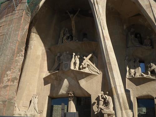 Crucifixion, Sagrada Familia, Subirachs