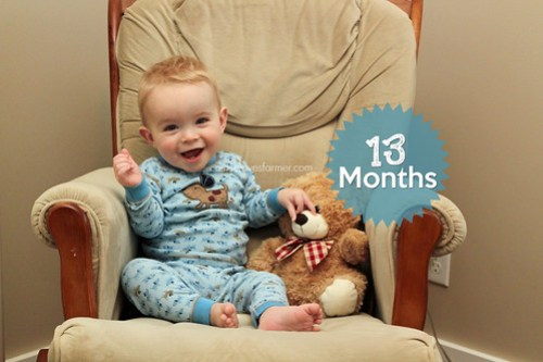 Ethan is 13 Months Old!