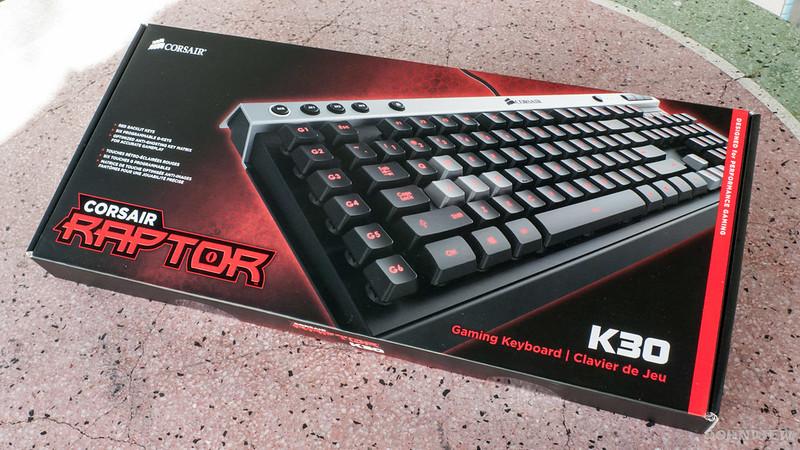 Corsair Raptor K30 and K50 Gaming Keyboards 1