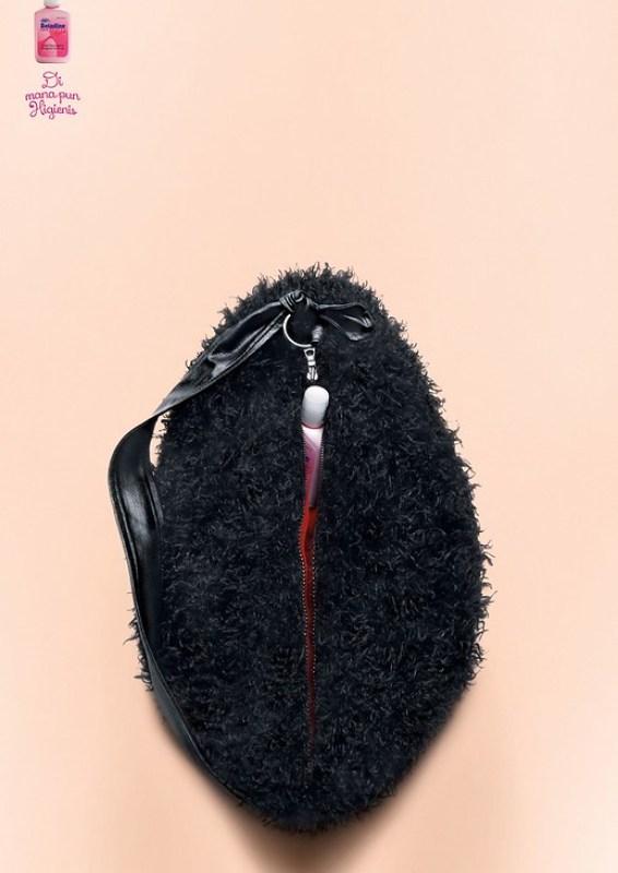 Betadine - Furry Handbag