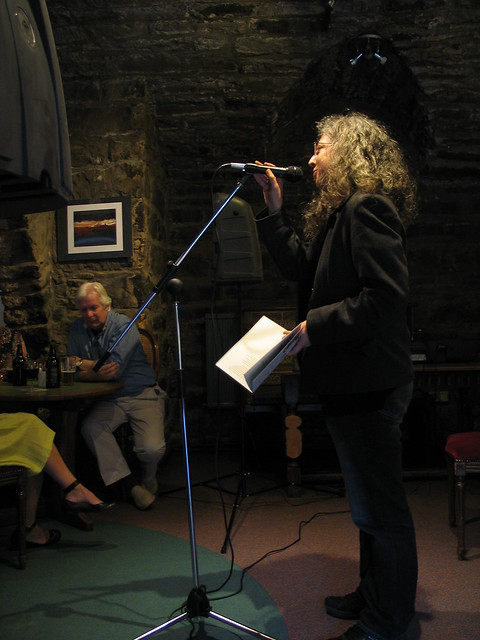 Tracey S Rosenberg reads at Shore Poets June 2013