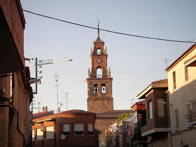 4. Torre de la iglesia de Villacañas