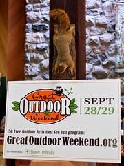 Great Outdoor Weekend Sign