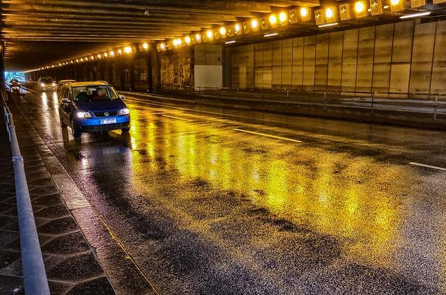 Tunnel #SomethingGoldSomethingBlue