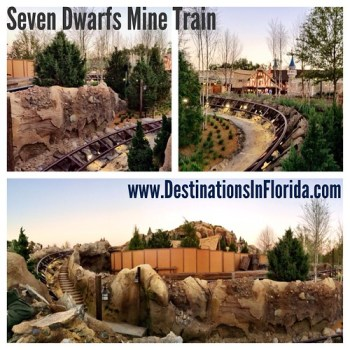 Seven Dwarfs Mine Train Update