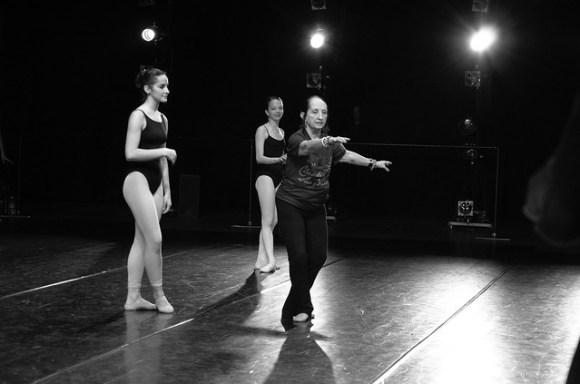 Ballet teacher corrections