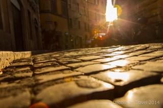 Cobblestone Streets in Rome