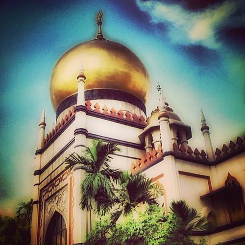 #mosque #singapore by @MySoDotCom