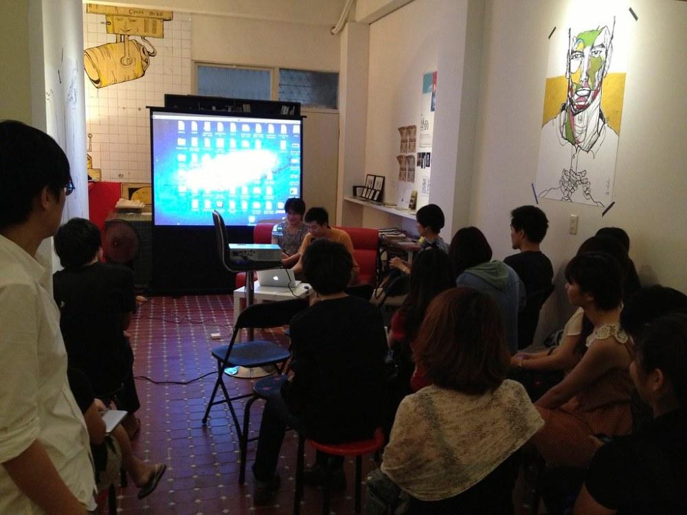2013第一屆游牧x創作駐村:移地創作分享座談會