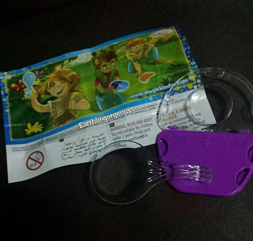 a toy inside the Kinder Joy