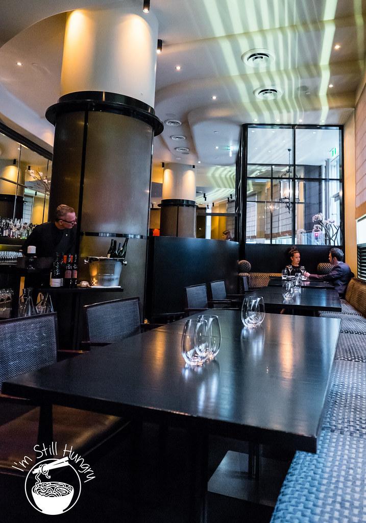 Sepia Restaurant interior