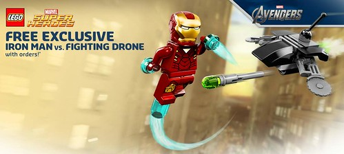 LEGO Marvel Super Heroes 30167 Iron Man vs Fighting Drone FD