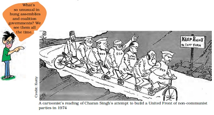 NCERT Class XII Political Science II: Chapter 5 - Challenges to And Restoration of The Congress System