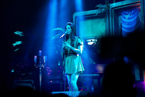 Lana Del Rey On Stage In Milan