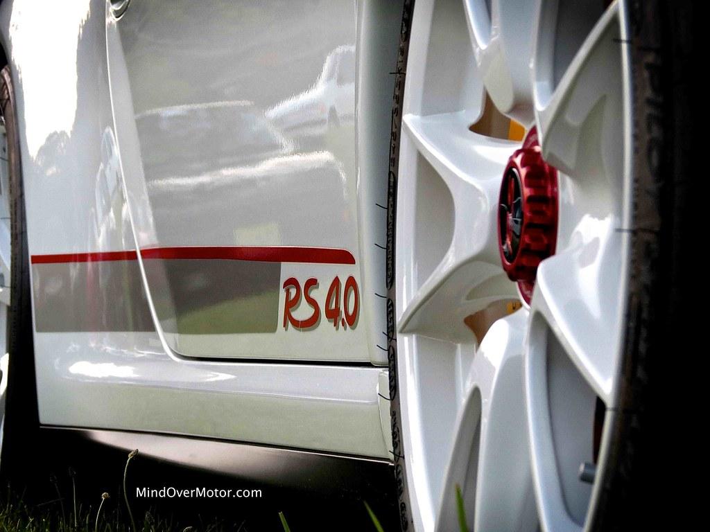 Porsche GT3 RS 4.0 at the PCA Meet in Mendham, NJ