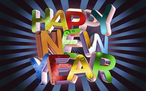 2014 Happy New Year Wallpaper Download by Jiya Aggarwal