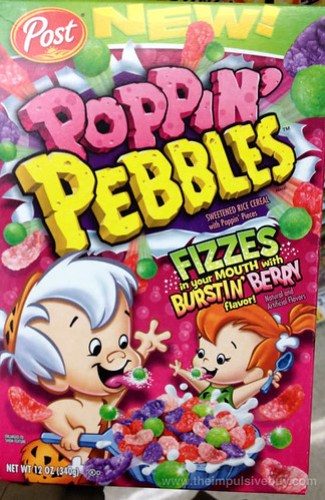 Post Poppin' Pebbles Burstin' Berry Cereal
