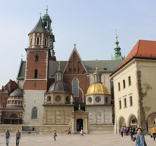 Wawel Castle Courtyard by Christopher OKeefe