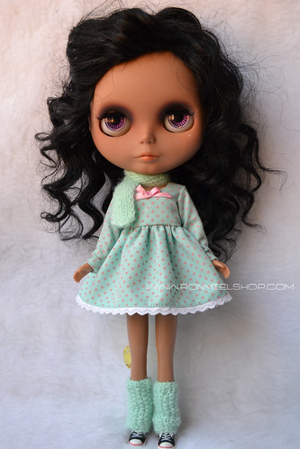 """Candy Dress"" Set for Neo Blythe Doll by * Ronmiel *"