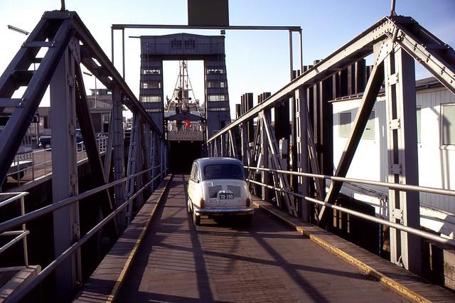 Car Ferry, Ostende, Belgium, 1969