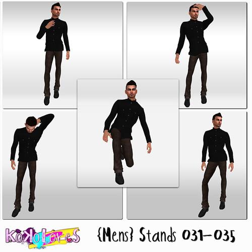 [KoKoLoReS]{Mens} Stands 031-035