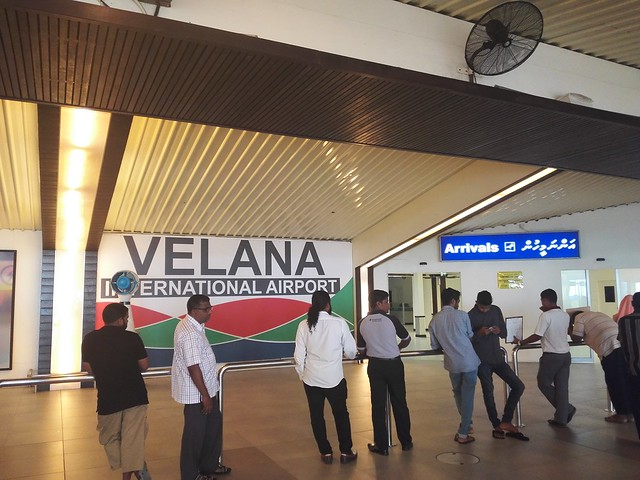 Velana airport Maldives