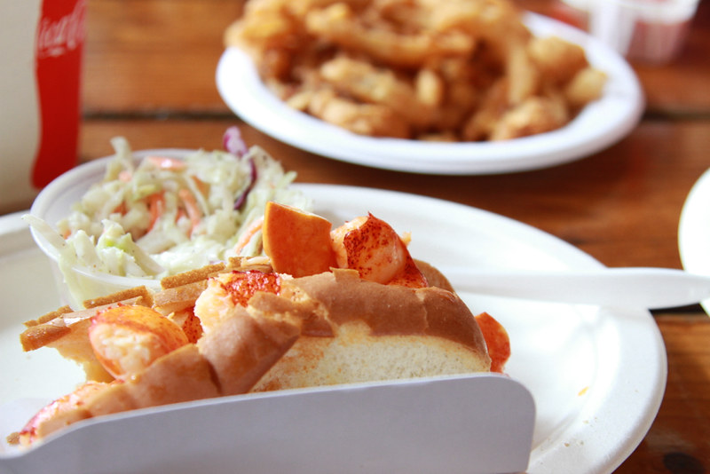 lobster rolls, etc.