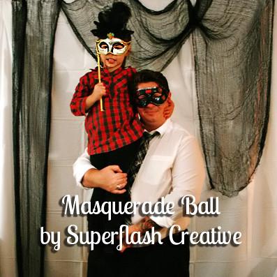 masquerade ball by Superflash Creative