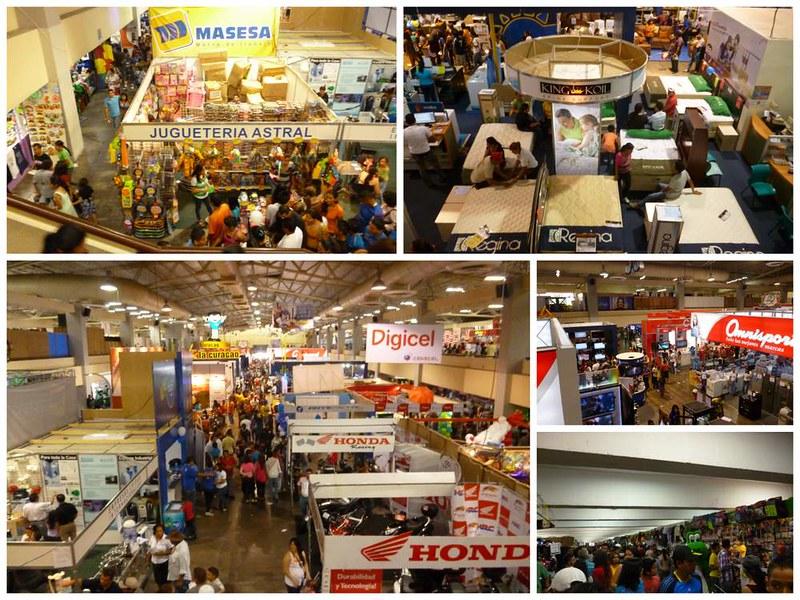 Exhibition hall at San Salvador's Consuma