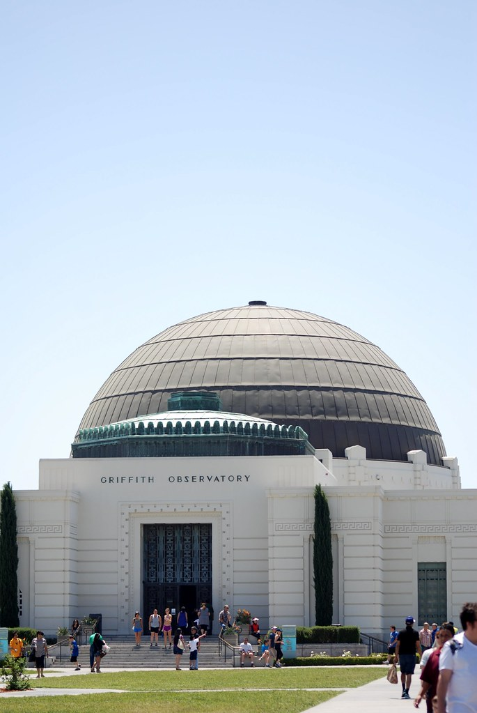 Entrance of Griffith Observatory
