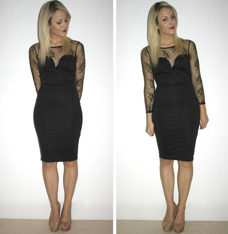 kardashian lace dress
