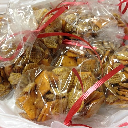 On the 11th day of Christmas...chex mix! Yum!