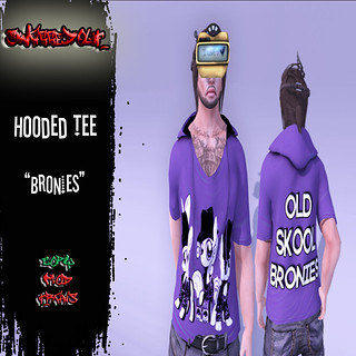 SwaggedOut - Bronies Hooded Tee